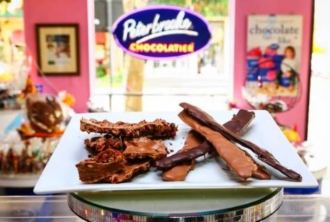 chocolate com bacon