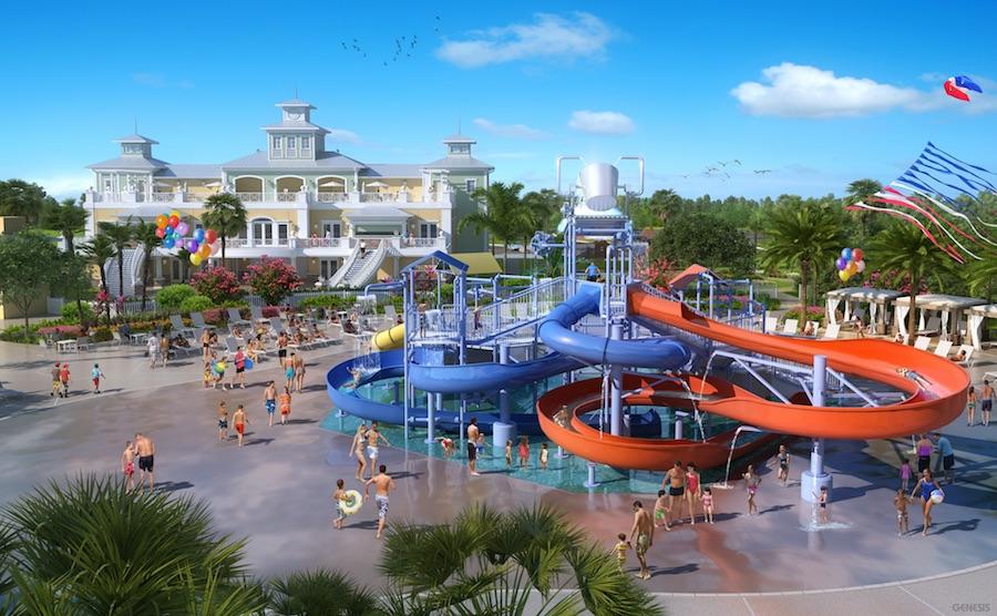 Piscina do Resort Reunion -photo credit:reunionprivatehomes.com