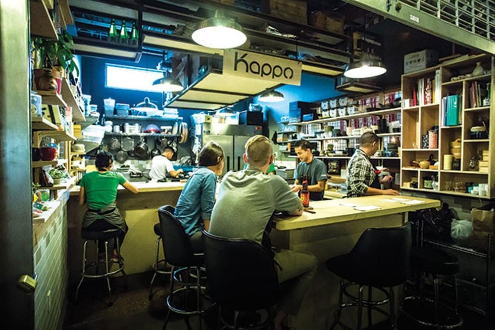 Antiga localização do restaurante Kappo em Orlando.