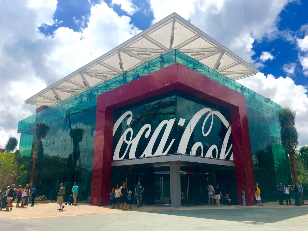 Prédio da Coca-Cola no Disney Springs