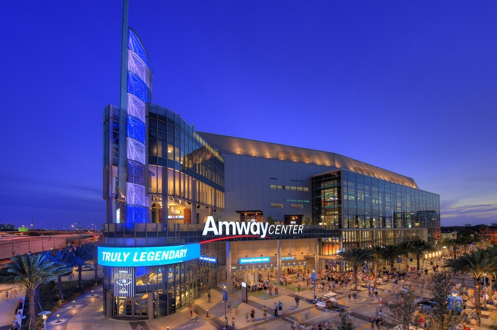 Estádio Amway Center - photo credit: stadiumparkingguides