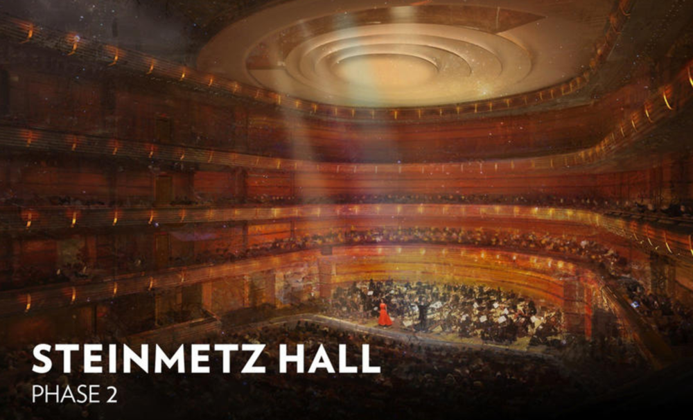 Segunda Fase do Dr. Phillips Center for the Performing Arts - Steinmetz Hall