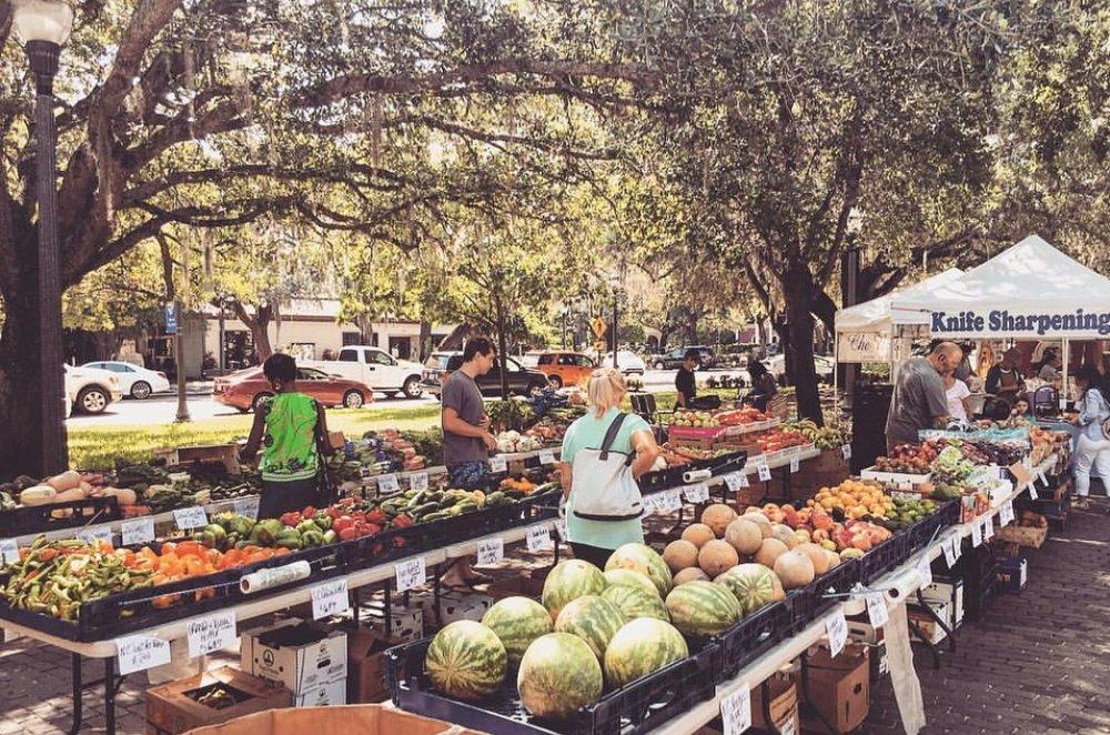 Farmer's Market em Windermere