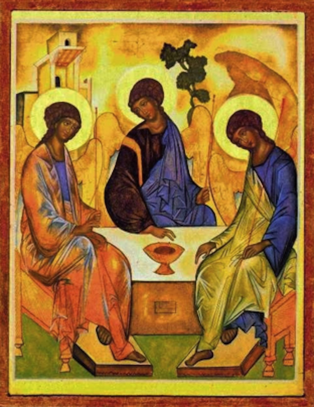 Rublev's Holy Trinity