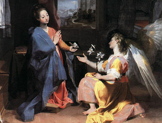 The Annunciation: When Angels Held their Breath Federico Barocci (1535-1612)
