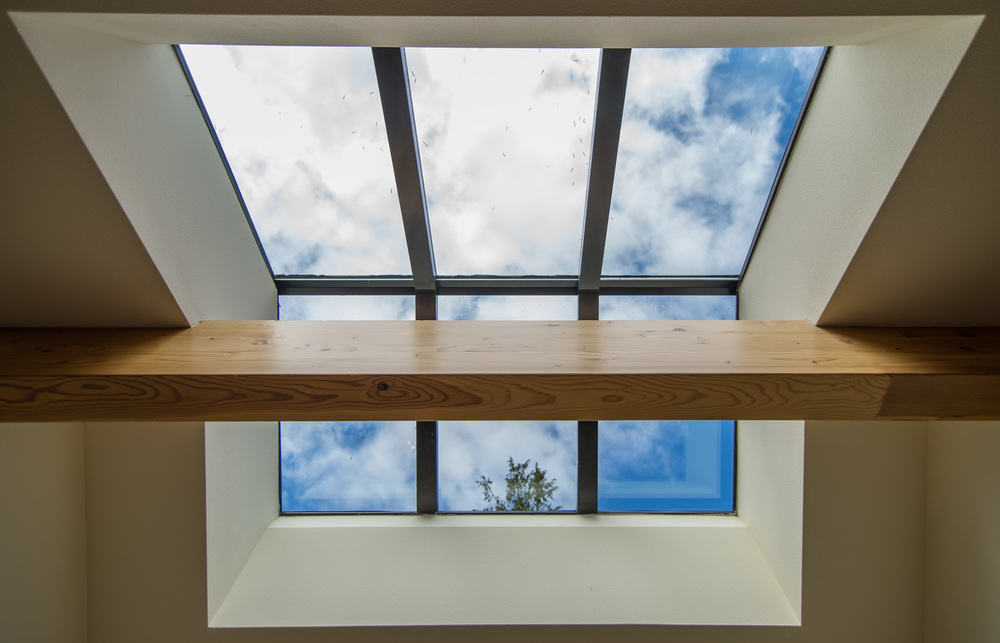 Ridge skylights add so much natural light......