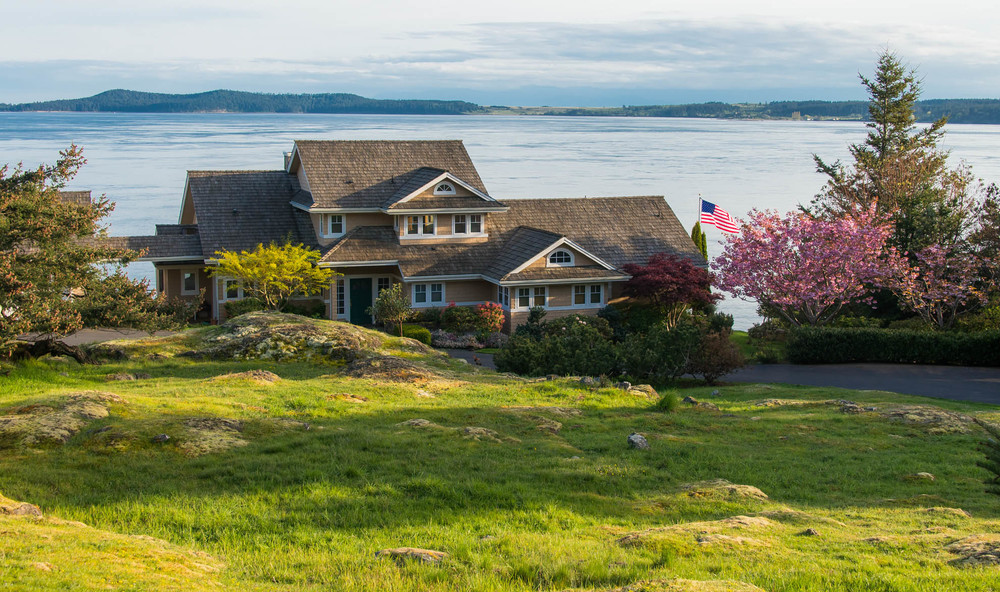 Friday Harbor, San Juan Island - Pear Point Custom Home and Guest House