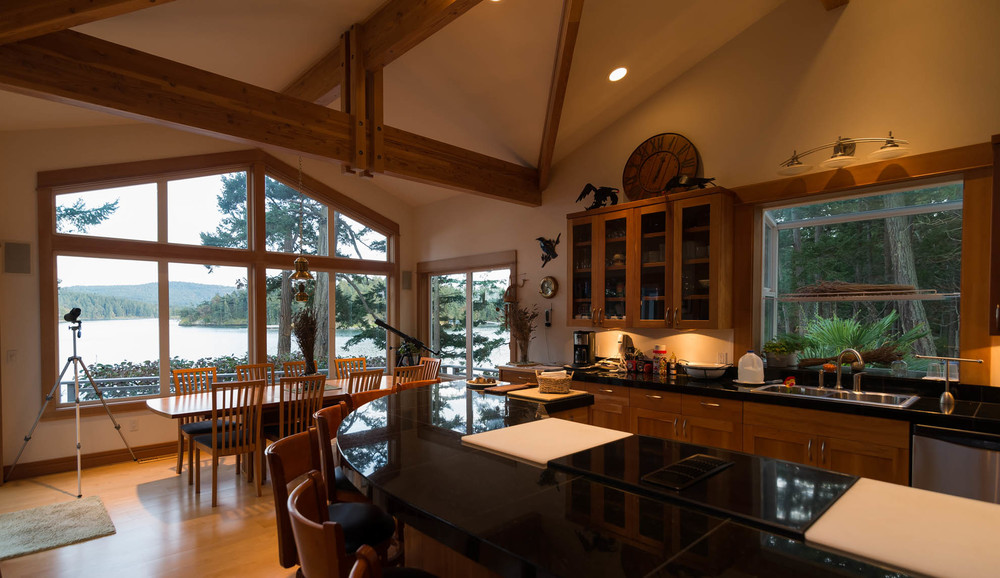 Friday Harbor, San Juan Island - White Point Custom Home