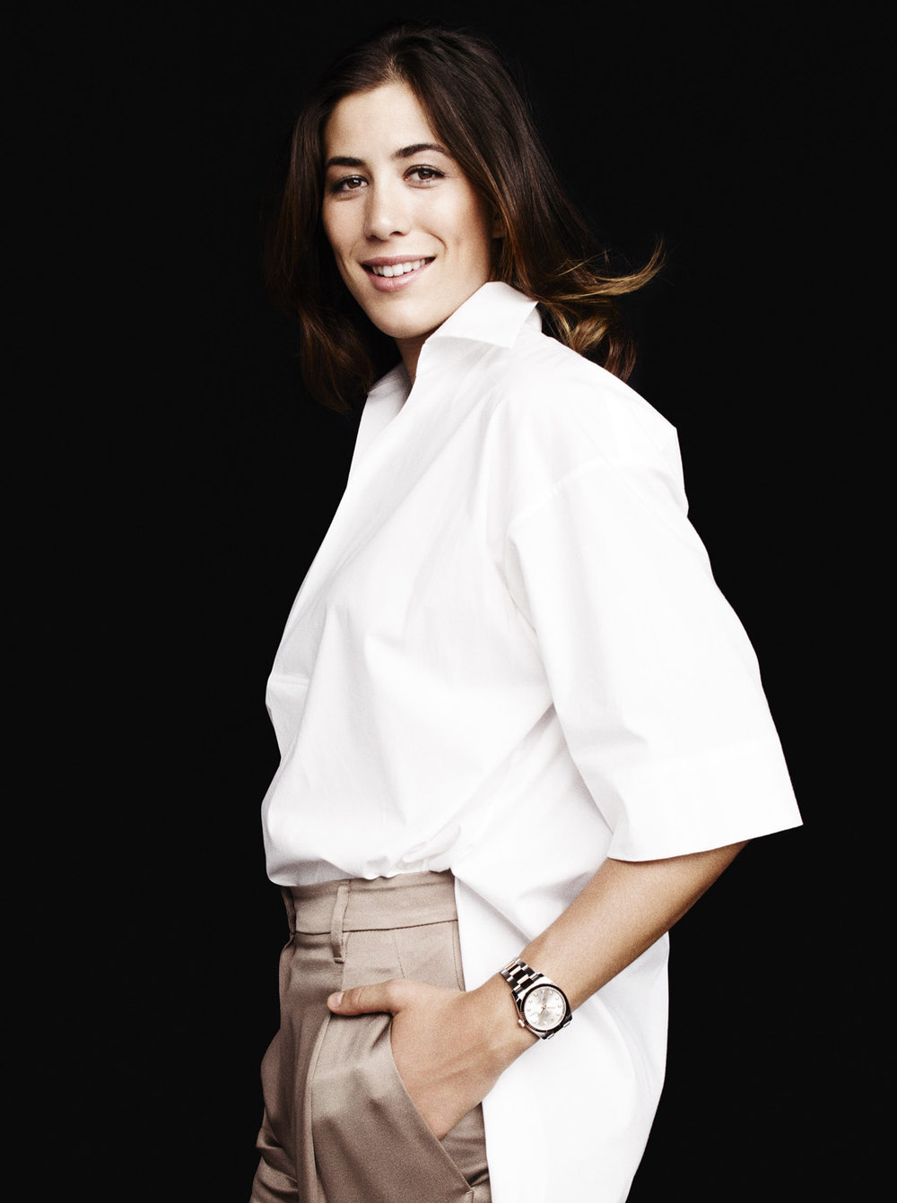 Copy of Garbiñe Muguruza for Rolex x ELLE