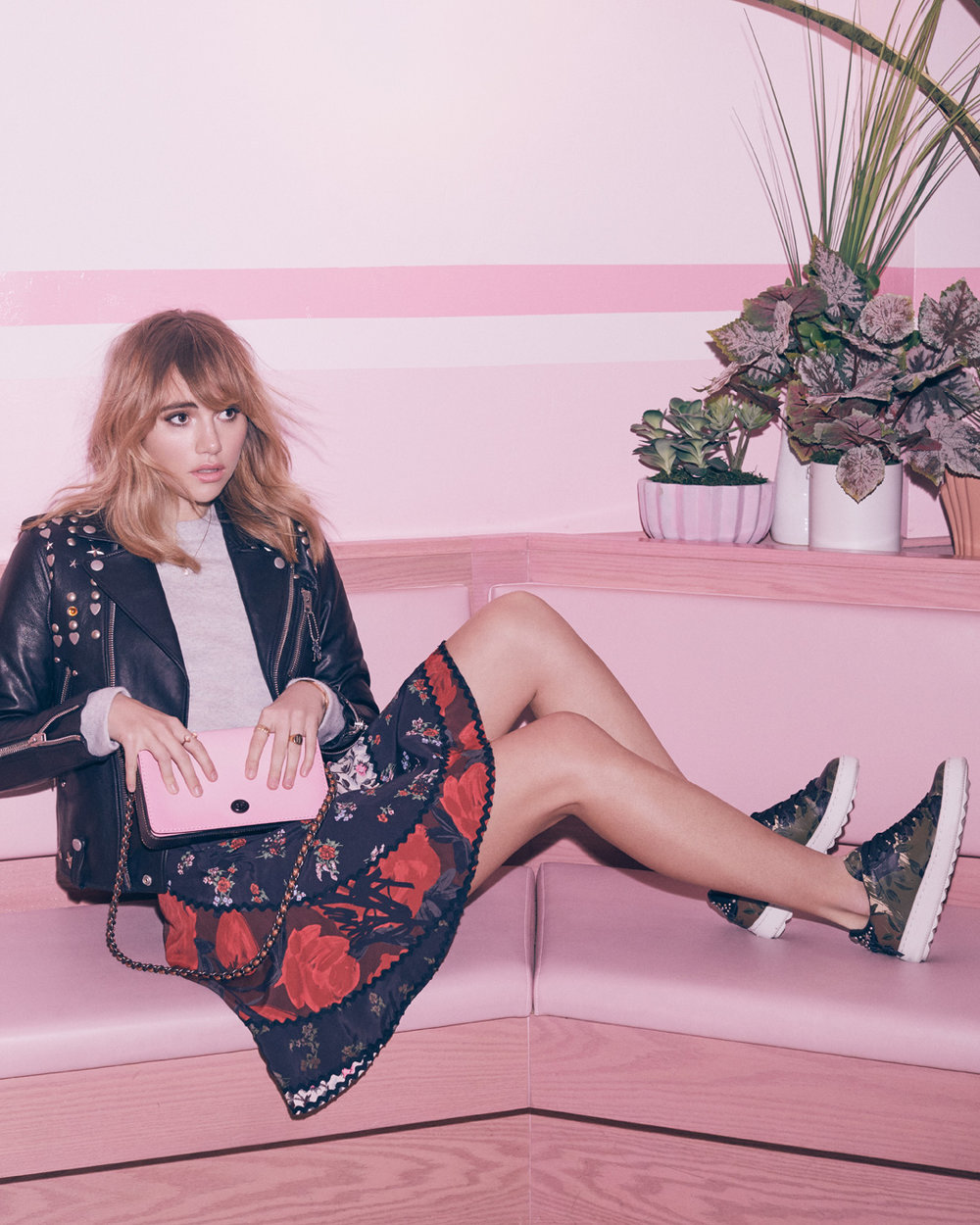 Copy of Suki Waterhouse for Coach x Harper's BAZAAR