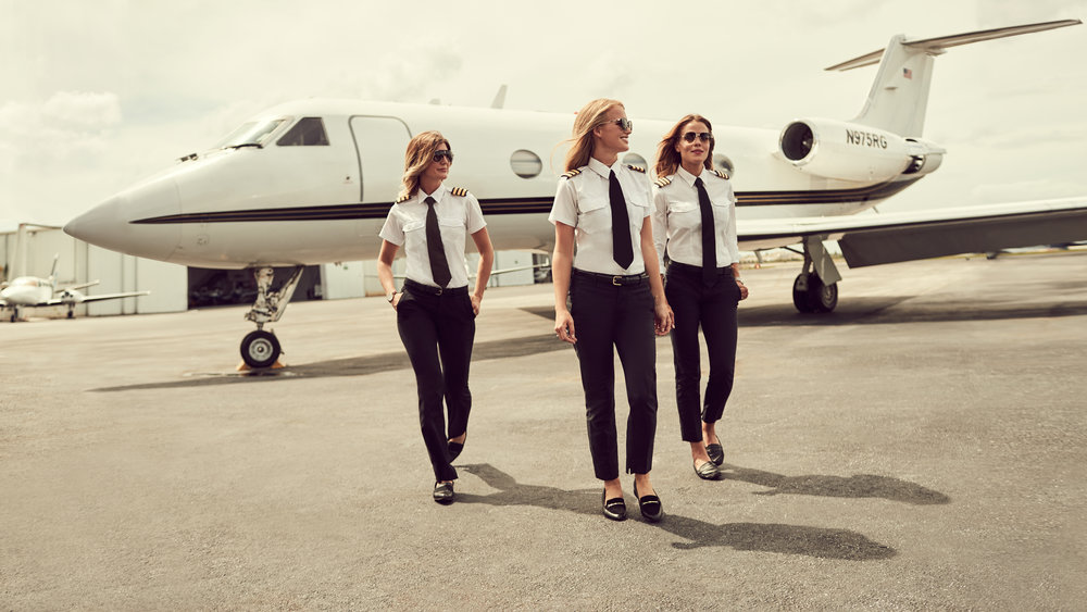 Copy of @pilotmaria, @flymalin, @mariathepilot for Carrera x ELLE