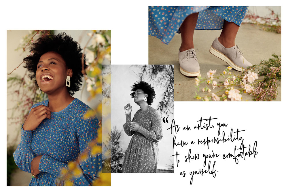 VICTORY BOYD for CLARKS x ELLE