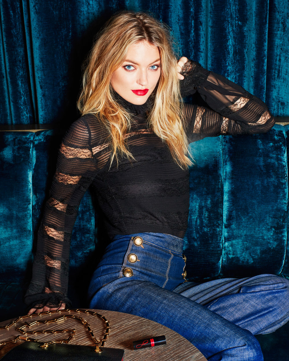 MARTHA HUNT for REVLON x ELLE