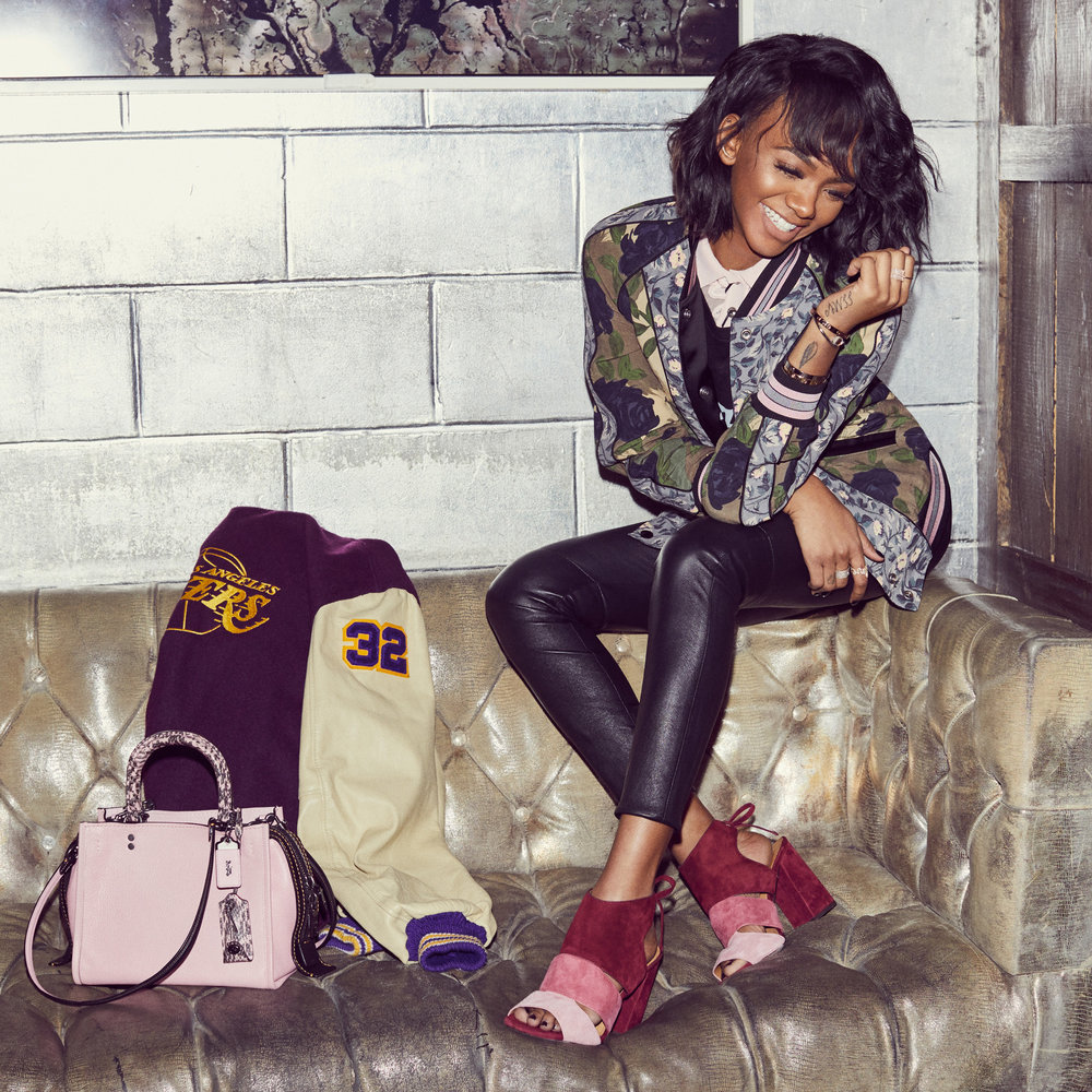 ELISA JOHNSON for COACH x ELLE