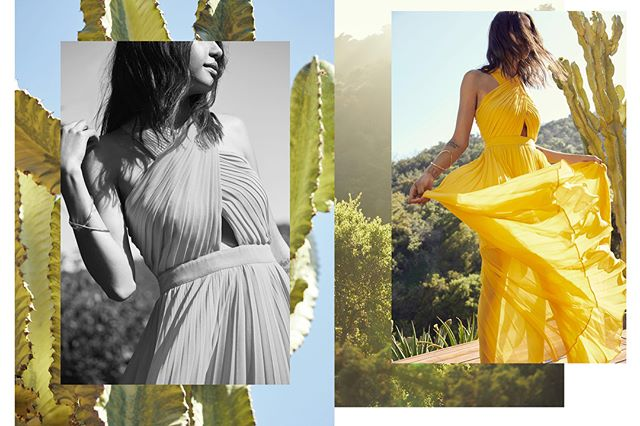 Summer shoot ☀️ with @discodaydream for @elleusa x @bloomingdales 🌵 #ilovecalifornia 📷: @williamshirakawa  #artdirection : me!  Stylist: @anninamislin  H/MU: @staceytan_ ✨: @danielray_ost + @tldjite Design: @tiffhonggg