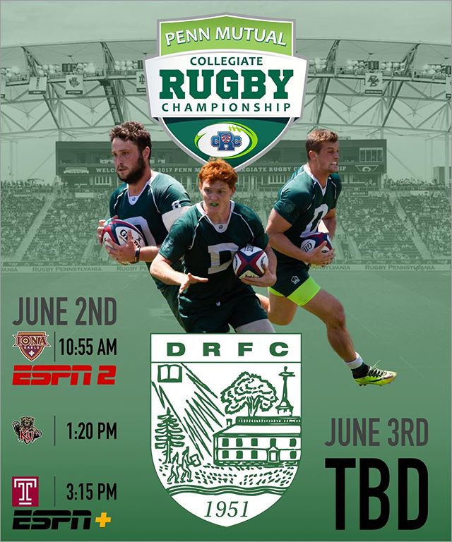 Dartmouth kicks off their fight for the Collegiate Rugby Championship tomorrow. Watch live on ESPN or follow along on our Twitter #gobiggreen @usasevenscrc @espn @dartmouthcollege @dartmouthalumni @dartmouthpeakperformance