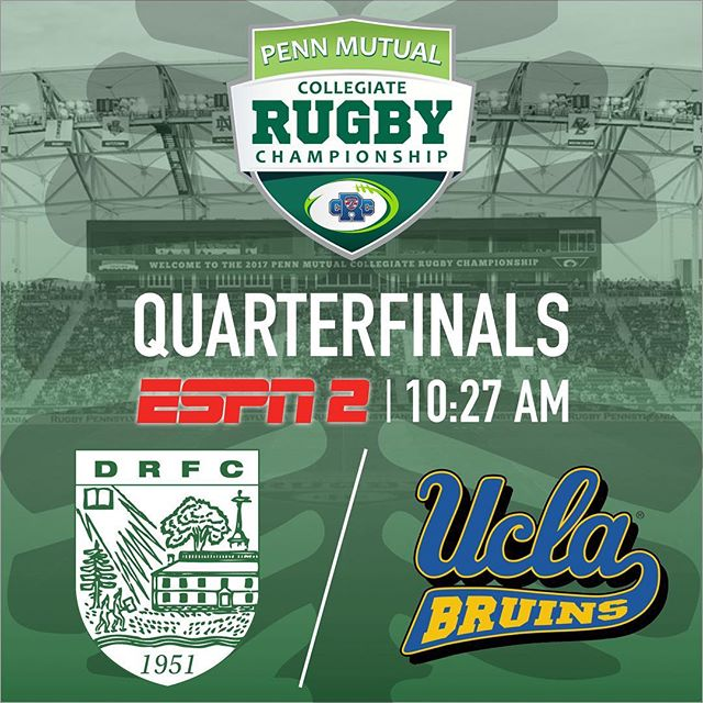 The Big Green is into the Cup Playoffs! Catch the boys in DRFC at 10:27 on ESPN 2 this morning #gobiggreen @usasevenscrc @dartmouthcollege @dartmouthalumni @dartmouthpeakperformance
