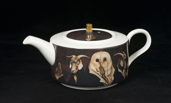 This is the teapot, 1 of 3 pieces in my tea set