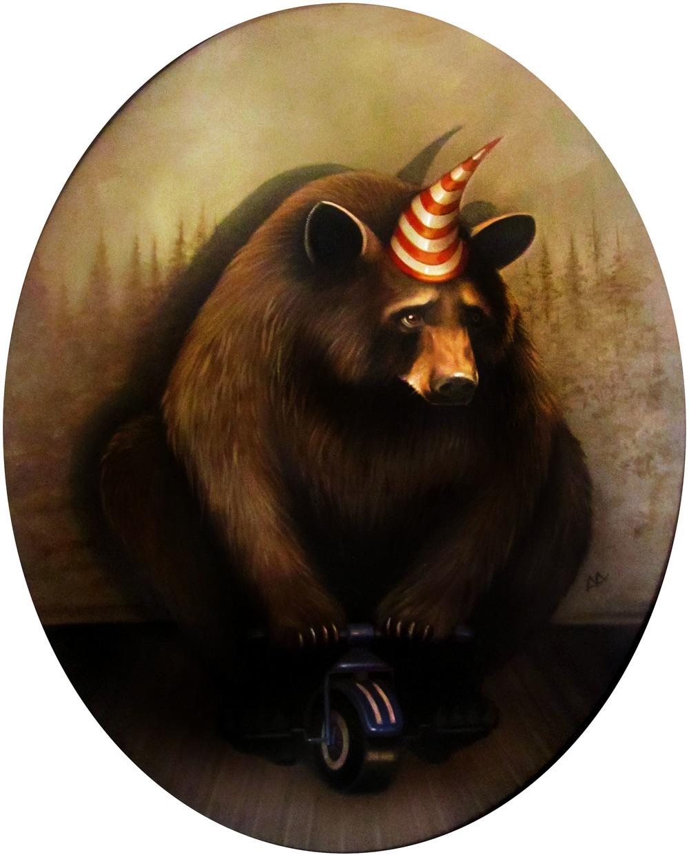 Bear on Trike