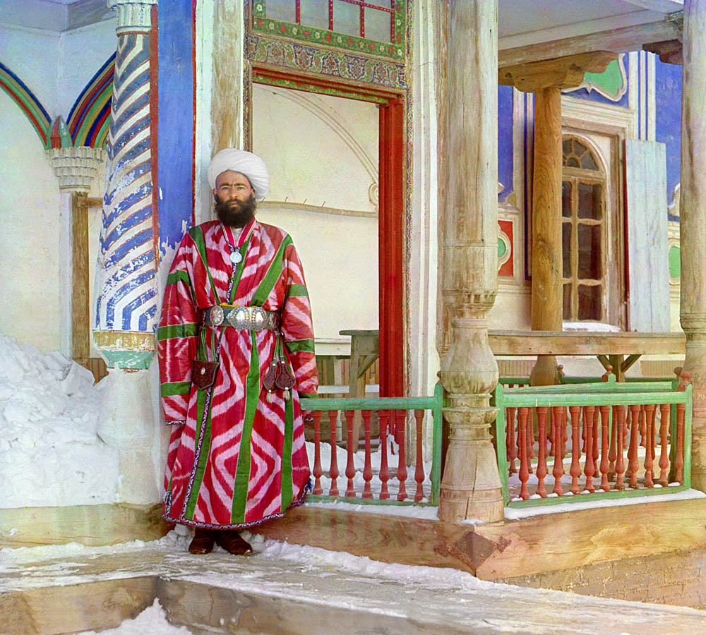 a bureaucrat from Bukhara, 1905-1915