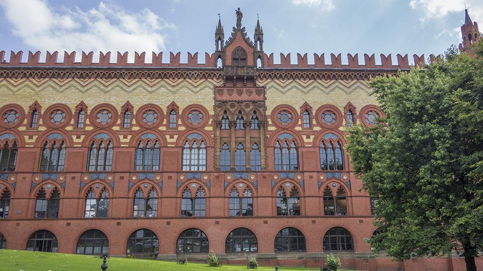 Templeton's brick facade