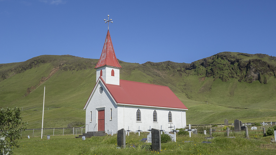 Church near Dyrholaey