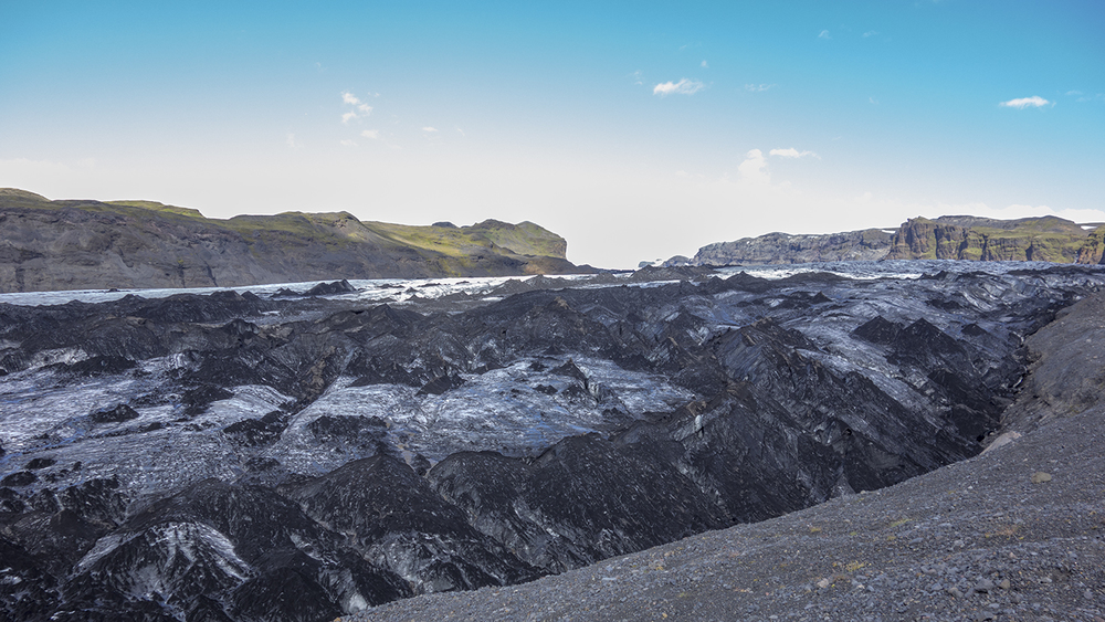 Solheimajökell glacier