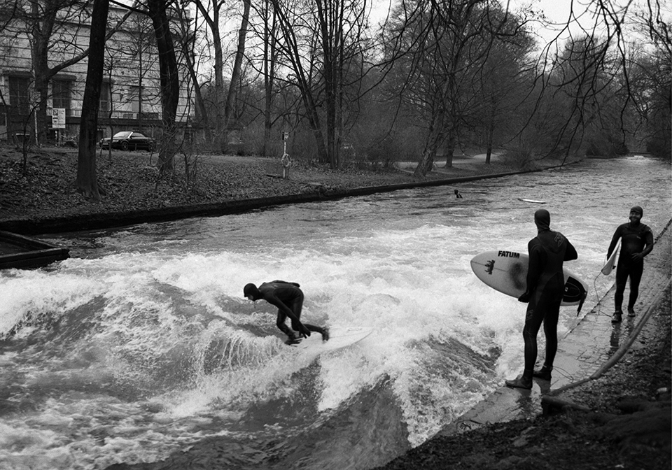 surfers, Munich, Germany