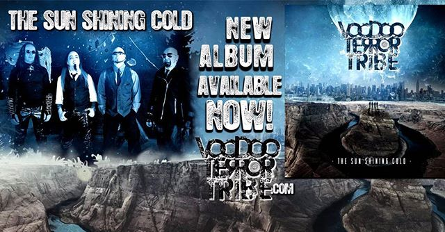 "Our most awesome friends VOODOO TERROR TRIBE  and their NEW Album release ""The SUN SHINE COLD"" is amazing !!! We are so proud of them in this amazing journey and honored to have been able to participate in the video. Thanks guys... Listen to them on YouTube and get your copy soon !! #heavymetal #heavymetalmusic #metallica #ozzie #reverbnation #metalunderground #hollowfest #gigzealot #genitorturers #rockrevoltmagazine #rockrevolt #christianmachado #newnoisemagazine #ilnino #armyofonetv #frankenbok #adrenalinemag #decibel #noiseconnections #heavymetalmagazine #decibel #revolver #zerotolerance #kerrang #heavymetalbands #VTTROCKS #Voodooterrortribe"