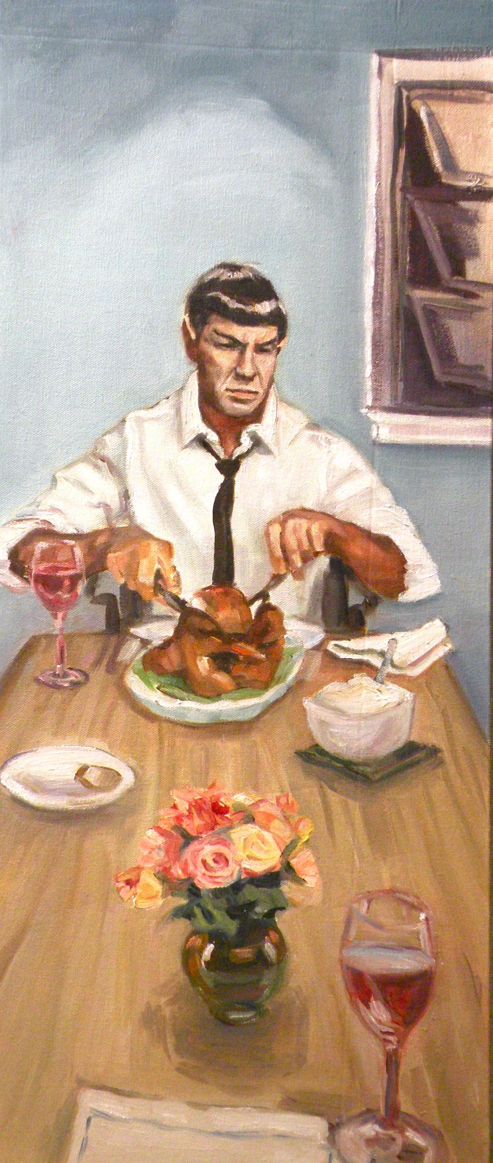 Dinner with Spock.JPG