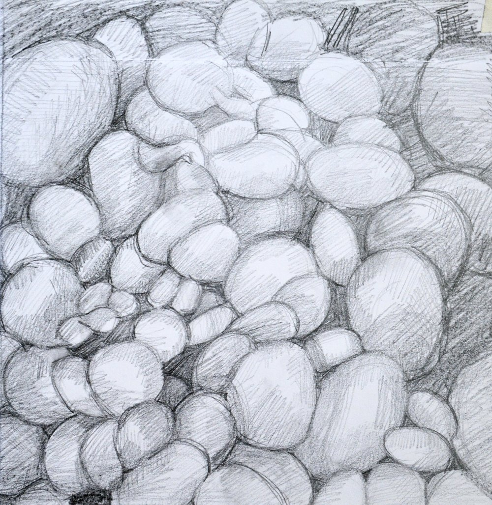 Study for Alchemy,   2018  Graphite on paper