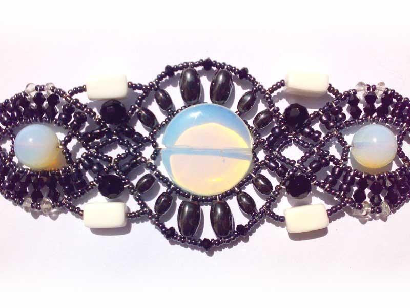 Genetic Moonstone - bracelet