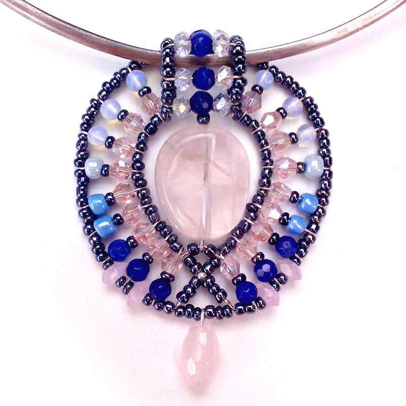 Lemon Leaf Sapphire - pendant
