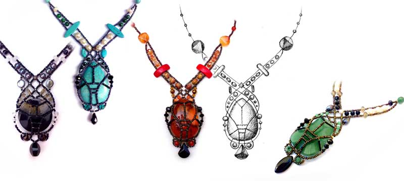 Osiris necklaces