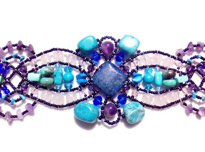 Spellbound Blue - bracelet