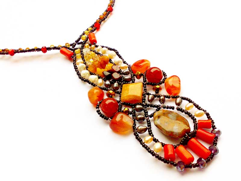 Spellbound Coral - necklace