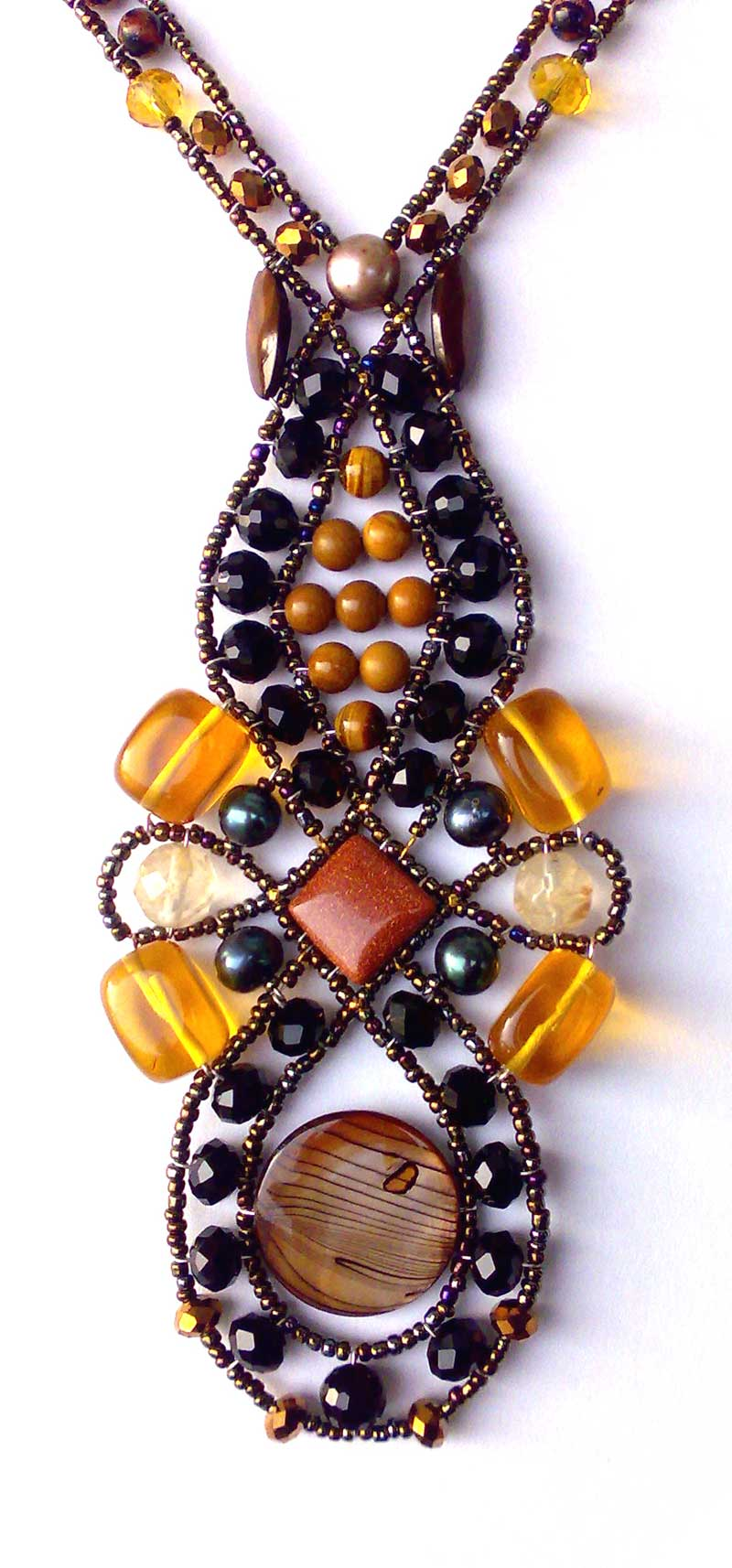 Spellbound Amber - necklace