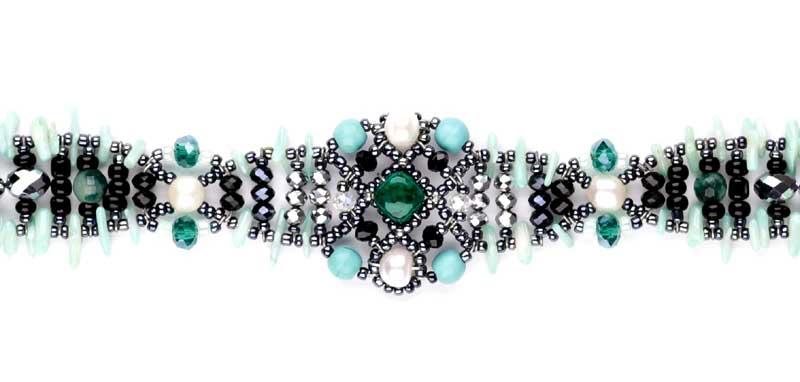Sheherezade Blue Coral - bracelet