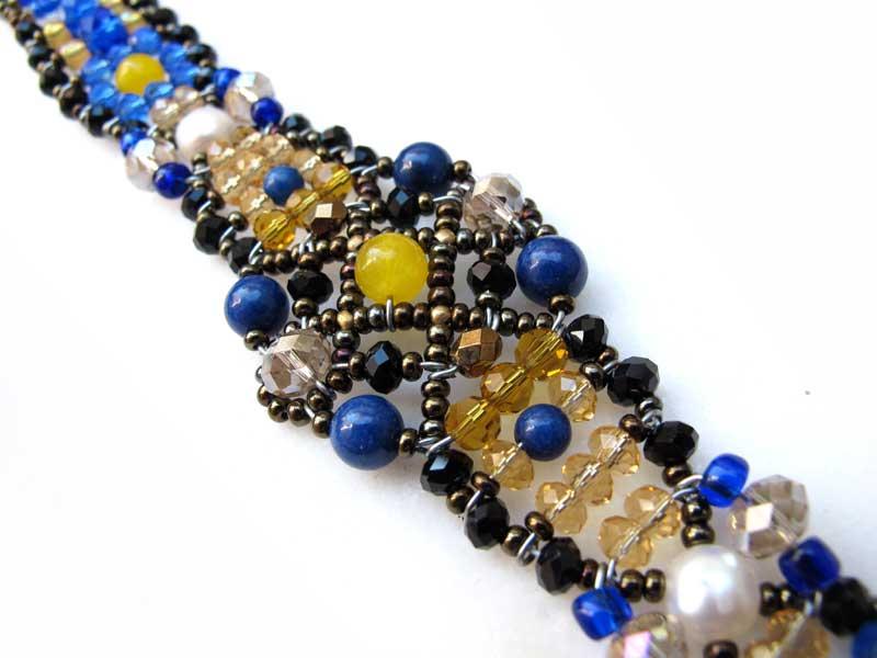 Sheherezade Lapis - bracelet