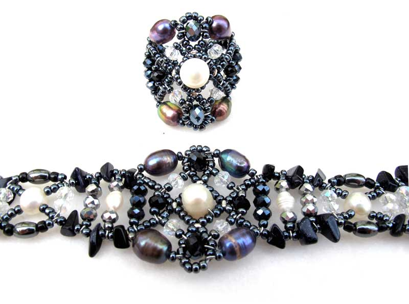 Sheherezade Rococo - ring & bracelet