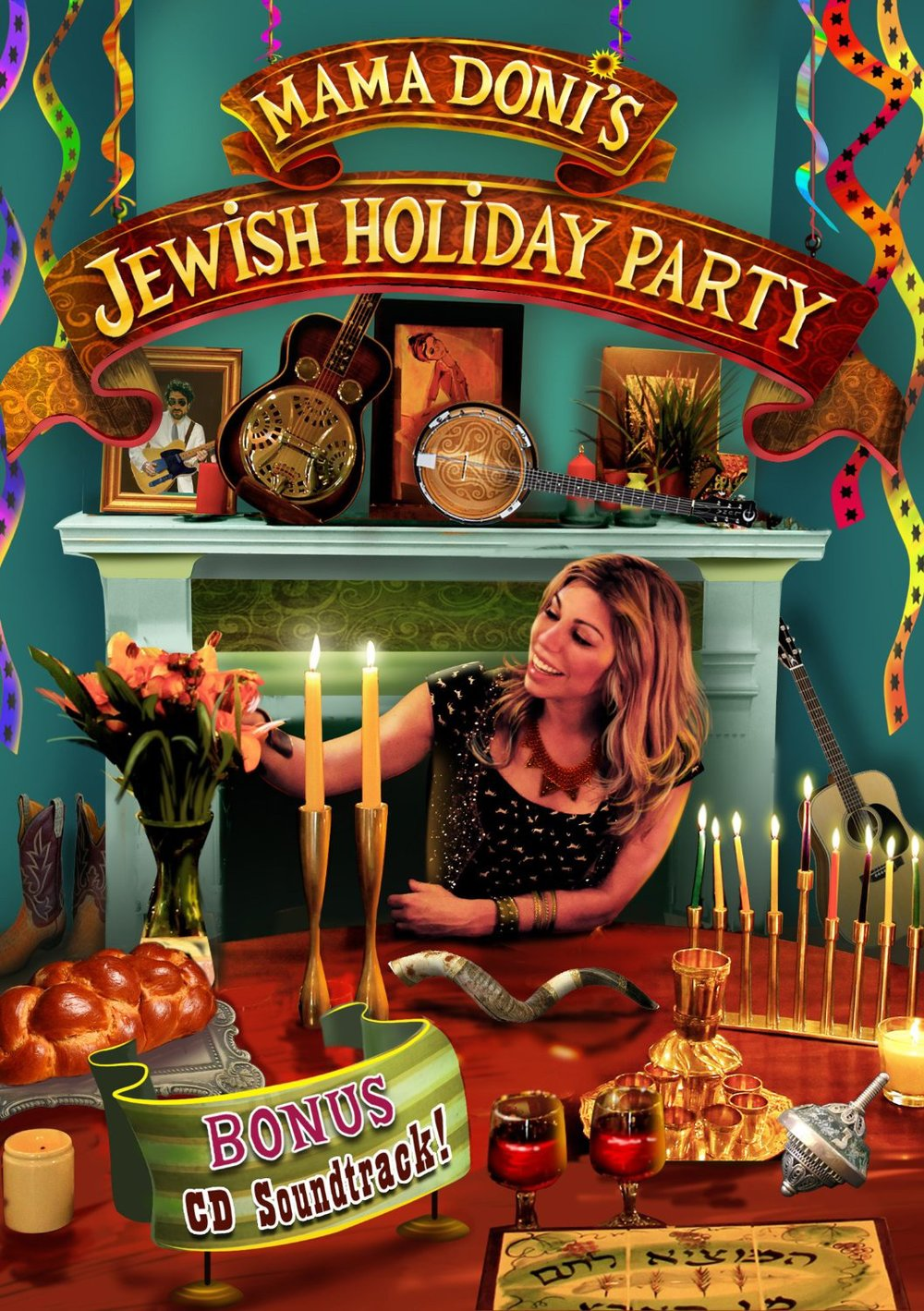 Mama Doni's Jewish Holiday Party (DVD)