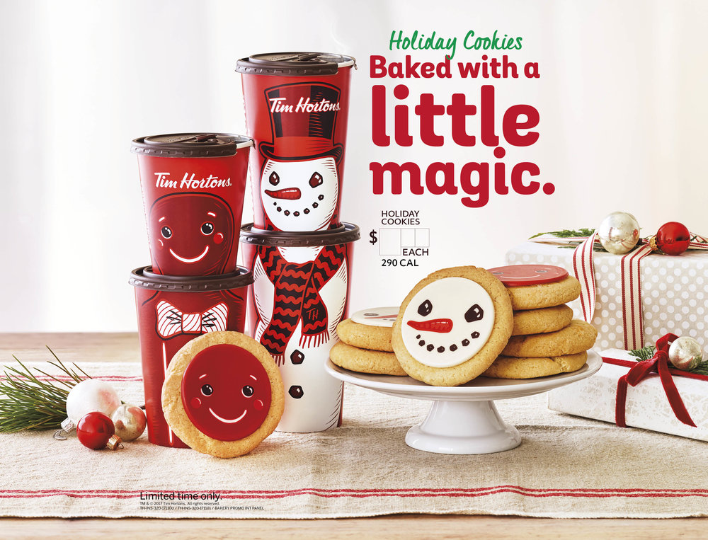Holiday Cookie Ad_Tim Hortons_Johnny Michael