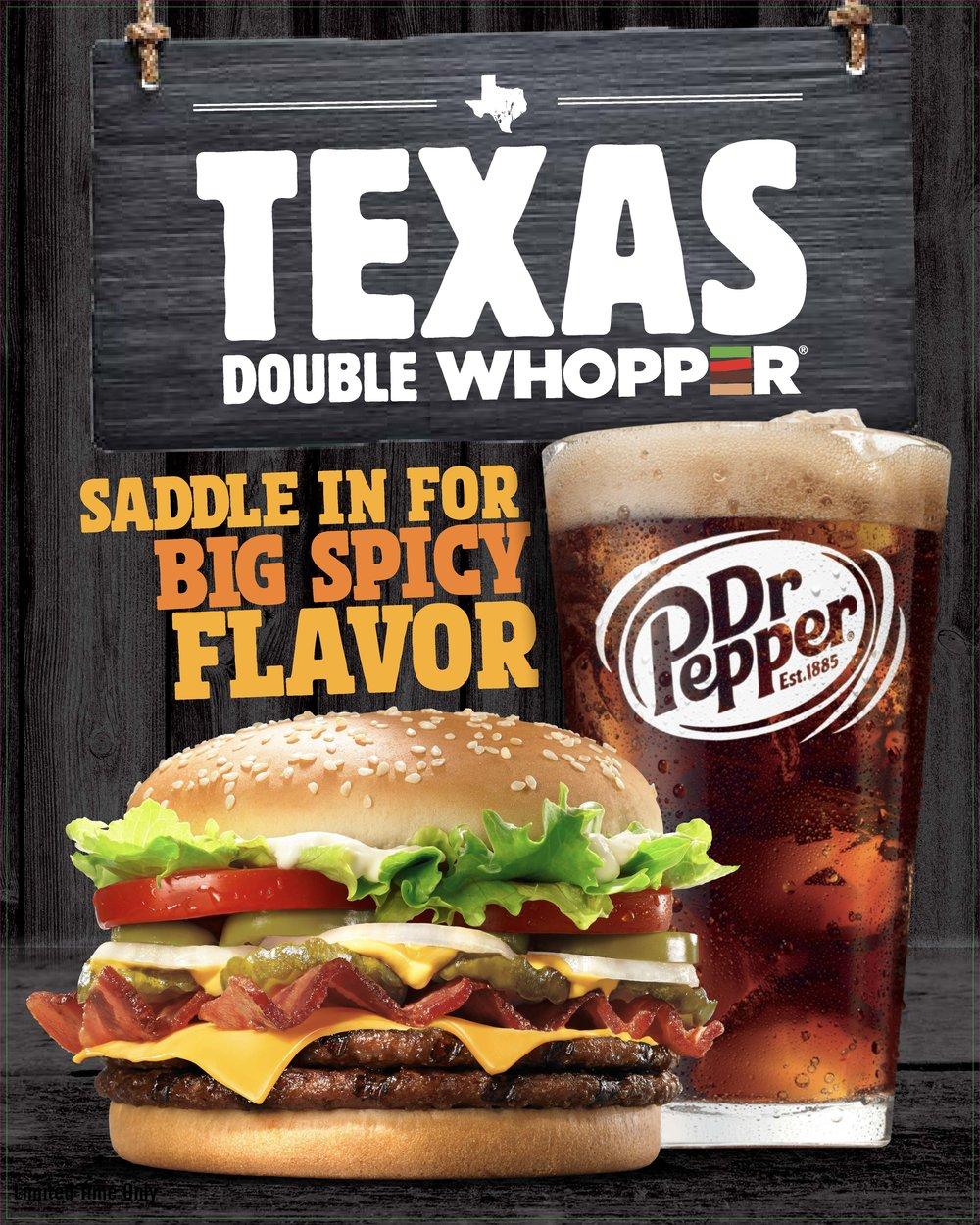 Burger King_Texas_Double_Whopper_Dr Pepper_Johnny Michael
