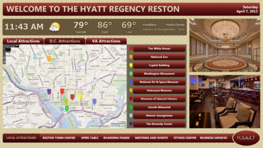 Digital Signage Hospitality Wayfinding Event Announcements Hotel NY.jpg