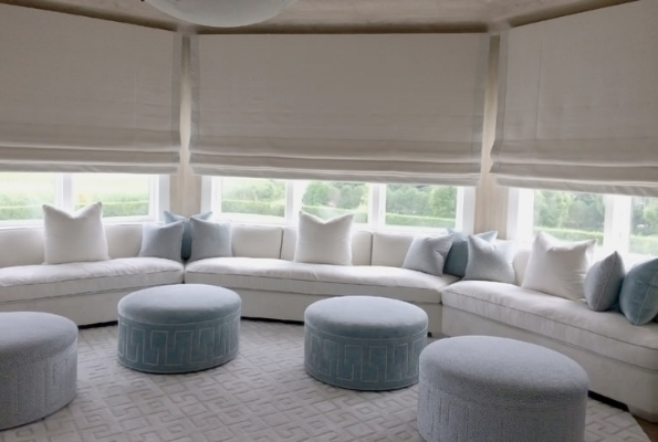 Motorized Roman Shades Fabrics Materials Integrated Homeworks QS Radio Ra2 NY NJ CT.jpg