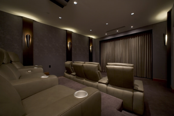 Home Theater Cinema  Curtain Motorized Lutron Vertical Kibe Long Island NYC.jpg