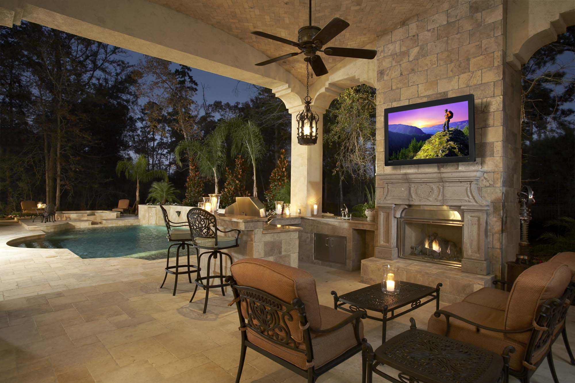 Do I Really Need An Outdoor TV Home Technology Experts Bespoke