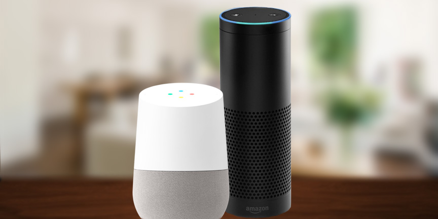 Comparing Google Home and Amazon Echo — Home Technology Experts:  Residential & Commercial Audio/Video + Smart Homes