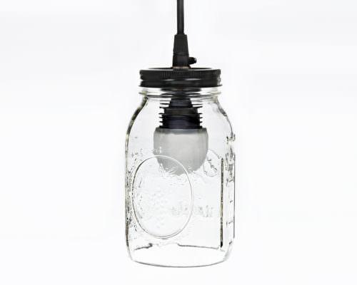 310 Mason Jar Pendant