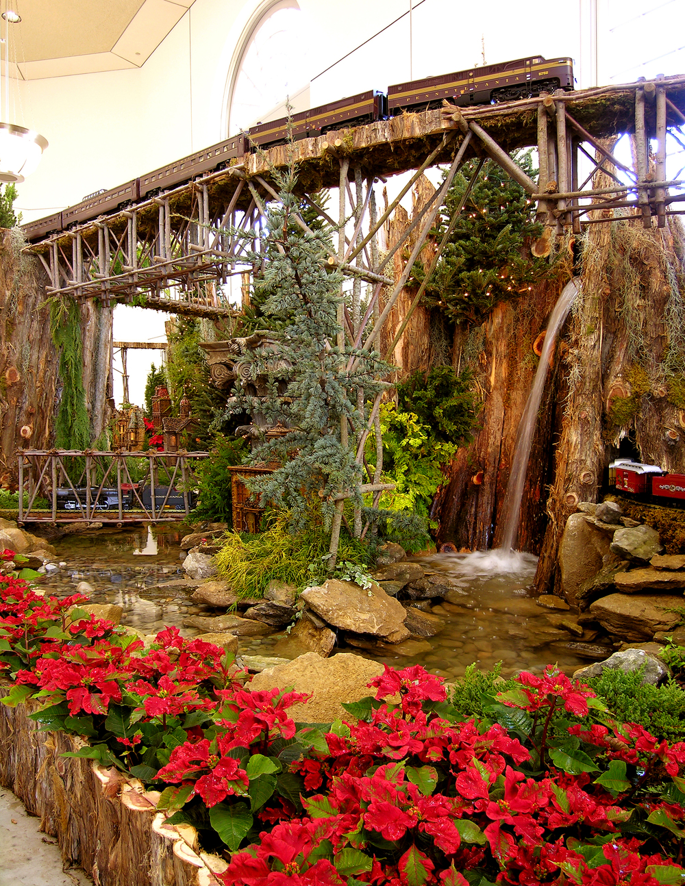 Garden Railway At United States Botanic Garden